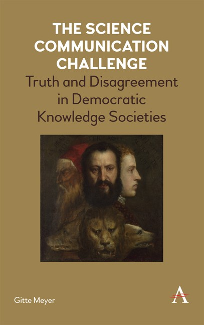 Academic book: The science communication challenge